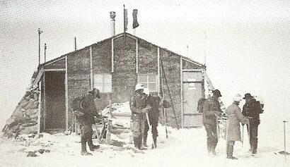Le premier refuge-observatoire Vallot de 1890